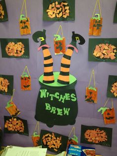 halloween bulletin boards for preschool | Halloween Witches Brew Bulletin Board | Boards for School
