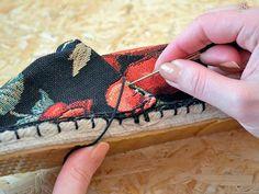 Tutoriales DIY: Haz tus propias alpargatas personalizadas vía DaWanda.com