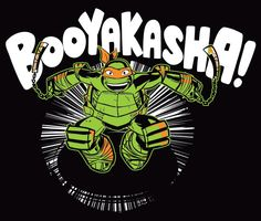 tmnt crossword booyakasha