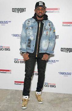 Fabolous at the BKLYN Rocks event in November 2016... Kicks 845deada07