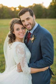 Jinger Duggar on her wedding day
