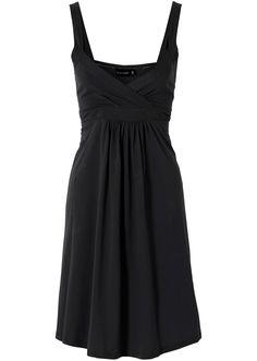 Voir:Cette robe de la marque BODYFLIRT est mise en valeur par une belle matière viscose douce fluide et par une encolure en V qui dessine un décolleté superbe. En uni ou à imprimé all-over, cette pièce est un must-have absolu pour cet été.