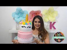 HAZ UN HERMOSO PASTEL DE UNICORNIO   Kenyas Cupcakes - YouTube