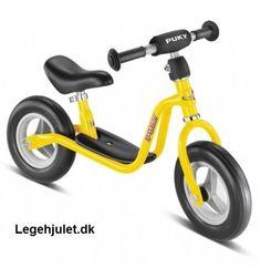 Køb denne GULE løbecykel fra PUKY til dit 2 eller 3 årige barn. Utrolig populær. Se den nu.