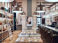 Meyer Davis — The Dutch; Love the simple and intimate ambience created within this restaurant.