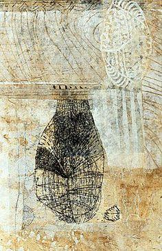 Eva Isaksen - Works on Canvas - Border Land II
