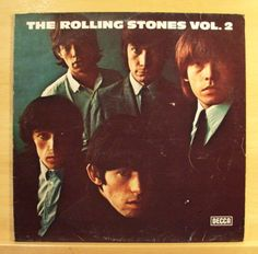 THE-ROLLING-STONES-Vol-2-Vinyl-LP-Time-is-on-my-Side-Pain-in-my-Heart-RAR