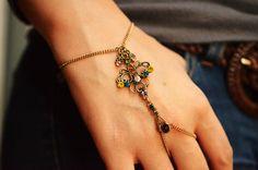 Pretty Gypsy Slave Bracelet //Antique Gold by TurquoiseCrush, $15.80