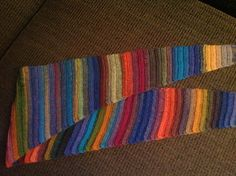 Baklooptus scarf ~ free, a baktus shaped scarf using half double crochet ribbing. I love it! ♡♥♡ free at http://www.ravelry.com/patterns/library/baklooptus-scarf