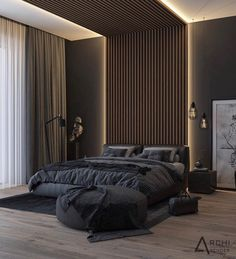 Vintage Home Decor Take a look at some contemporary bedroom design inspirations! Home Decor Take a look at some contemporary bedroom design inspir Modern Luxury Bedroom, Master Bedroom Interior, Luxury Bedroom Design, Modern Master Bedroom, Home Room Design, Master Bedroom Design, Contemporary Bedroom, Luxurious Bedrooms, Home Decor Bedroom