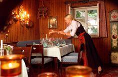 Gemütliche Bauernstubn im Haubenrestaurant Loystubn in Bad Kleinkirchheim http://www.loystubn.at/blog/loystubn/das-restaurant