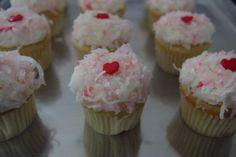 Mini Coconut Cupcakes!