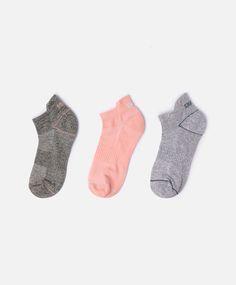 3-pack of cotton socks - OYSHO