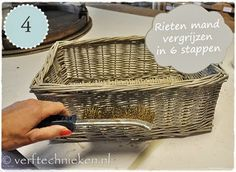 verftechnieken.nl mandje vergrijzen stap 04