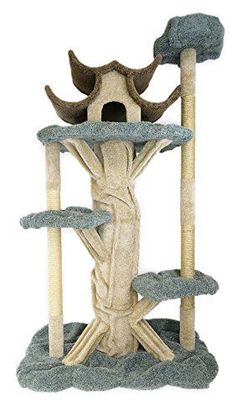 New Cat Condos Premier 7' Tall Cat Playground