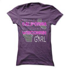 Wisconsin girl in California World - #ringer tee #sweater shirt. SIMILAR ITEMS => https://www.sunfrog.com/States/Wisconsin-girl-in-California-World.html?68278
