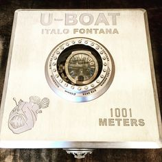 The most #exclusive packaging for the #limitededition 1001 ft #uboatwatch ⌚️#divers .... Solid aluminum box! #watches #watchfam #watchoftheday #luxurywatches #luxury #italofontana #picoftheday #watchdaily #watchdaily #italianstyle #madeinitaly #watchgeek #watchshot