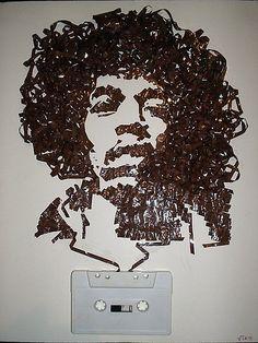 Jimmy Hendrix cassette tape