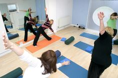 Yoga classes in our Clinic
