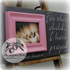 Goddaughter Gift Christening New Born Baby Girl Baptism Godchild GIRL Picture Frame First Birthday