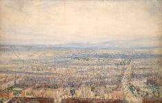 JAMES MAHONY, DUBLIN FROM THE SPIRE OF SAINT GEORGE'S CHURCH, HARDWICKE PLACE, 1854. PHOTOGRAPH: NATIONAL GALLERY OF IRELAND