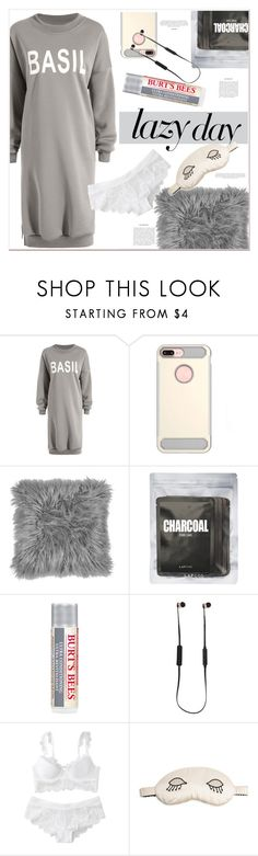 """""""lazy day"""" by mycherryblossom ❤ liked on Polyvore featuring Lapcos, Burt's Bees, Sudio, Morgan Lane and LazyDay"""