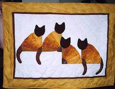 Siamese Fan Quilt by Princes Milady, via Flickr