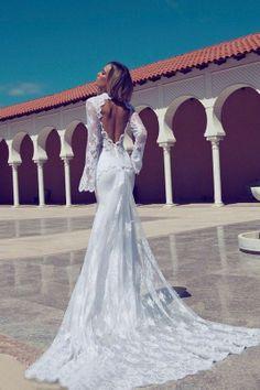 New Sexy weiß / Elfenbein Spitze Hochzeitskleid benutzerdefinierte Größe | eBay