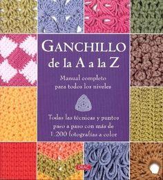 42cb671bc Catálogos de las Bibliotecas de la Comunidad de Madrid Ganchillo de la A a  la Z