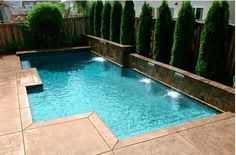 Small Inground Swimming Pools - Design And Landscaping Ideas ...