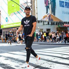 Kosta Williams x Adidas #Fashion #Art #inspiration #urban #Street #menswear #white #Model Pinterest: Junior D-Martin