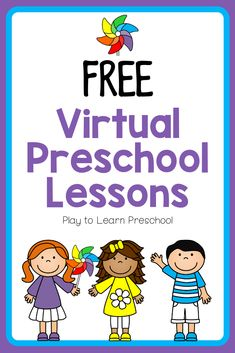 Free Preschool Lessons with Printables