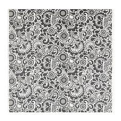 ÅKERKULLA tela por metros, negro/blanco Ancho: 150 cm altura del dibujo: 1 cm superficie: 1.50 m²