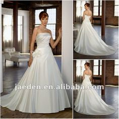 Long Wedding Dresses 20121.Taffeta design2.Victorian design3.Beaded sash4.Puffy wedding dress