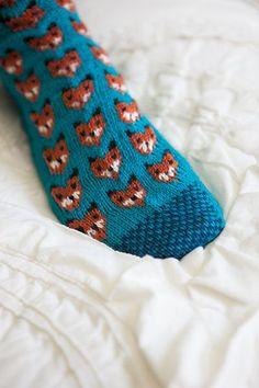 Füchse stricken  #Knitulator #sammelt #Ideen
