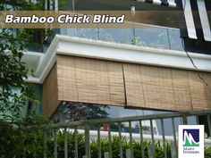 Marvi Interiors exclusive Chick Bamboo Blinds, Very light in weight and simple to install. Beautiful designs with many colors to choose from. Pergola Screens, Pergola Canopy, Pergola Plans, Pergola Cover, Wooden Window Blinds, Window Awnings, Blinds For Windows, Pergolas For Sale, House Blinds