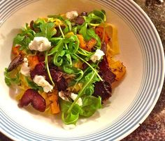 finished dish Tagliatelle with Biltong and butternut