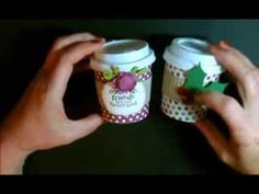 Perfect Blend Mini Coffee Cup with Deb Valder FREE tutorial, video and template… Coffee Cup Crafts, Mini Coffee Cups, Chocolate Covered Espresso Beans, Coffee Cards, Coffee Menu, Coffee Break, Scrapbooking, Craft Show Ideas, Christmas Paper