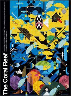 Charley Harper (for John) U.S. National Park Service Coral Reef