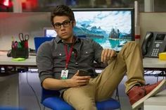 When girls say they would date a nerd they mean nerds like him    I just died