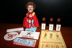 Love the poster and admission tickets.  Nacho Libre swag
