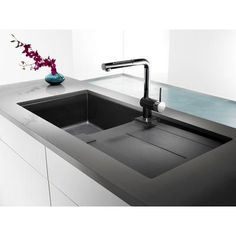 Blanco Double Sink With Drainboard : ... Kitchen Sinks on Pinterest Blanco Sinks, Sinks and Kitchen Sinks