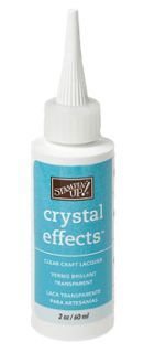 Crystal Effects or ranger's Glossy Accents - great tips