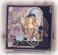 Moonlight Fairy by busysewin - Cards and Paper Crafts at Splitcoaststampers