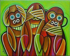 EBSQ AOTD 08/26/2013 - 3 wise monkeys by Javier Martinez