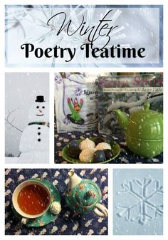 Check out these ideas to host a winter poetry teatime with your children.