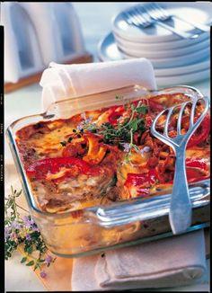 Vegetarische Lasagne mit Pfifferlingen und Zucchini - hier geht's zum Rezept!