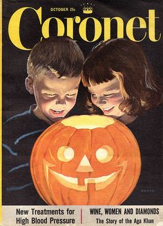 Coronet magazine. Illustrated by Charles Hawes. October 1953