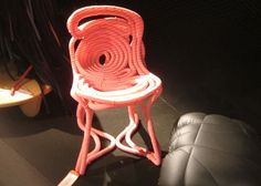 #TangerineTango rope chair