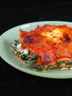 Lasagnes ricotta, épinards & mascarpone